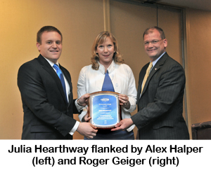 Julia K. Hearthway, UI Integrity Award