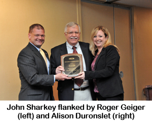 John Sharkey, UWC Outstanding Contribution Award